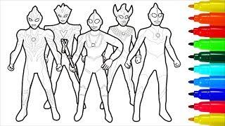 Mewarnai Ultraman X म फ त ऑनल इन व ड य