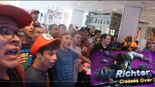 LIVE REACTION TO THE SMASH BROS ULTIMATE DIRECT 8/8/18 NINTENDO NY