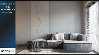 Mẫu thiết kế nội thất phong cách Tối giản tại The Monarchy...