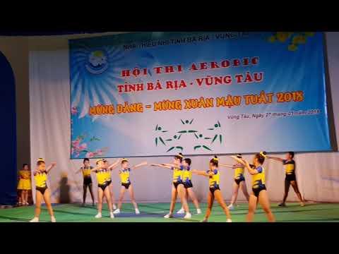 TH Quang Trung Vũng Tàu - Dự thi Earobic 2018