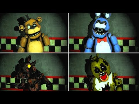 [FNAF SFM VR] Fixing ALL Animatronics (Five Nights at Freddy's Help Wanted Animation)
