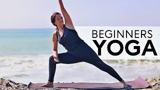 15 Minute Beginners Yoga (For Weight Loss) | Fightmaster Yoga Videos