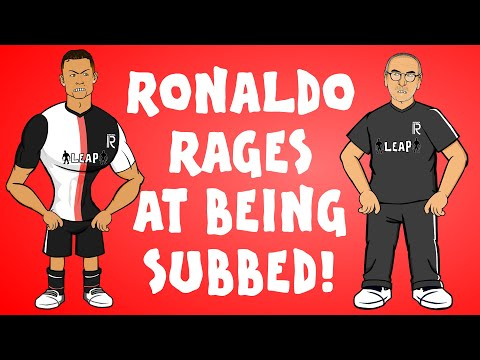 😡RONALDO is LIVID with SARRI!😡