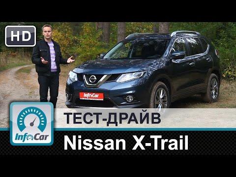 Nissan  X Trail Паркетник класса J - тест-драйв 2