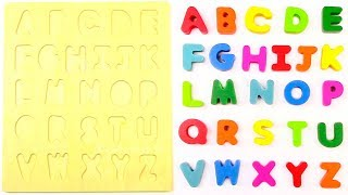 Learn Z To A Alphabets For Kids | Learn Fruits and Vegetables | Learn Alphabet with Wooden Toys