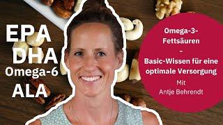 Omega 3 Fettsäuren: Die besten Quellen & positive Effekte auf den Körper | Verhältnis zu Omega 6