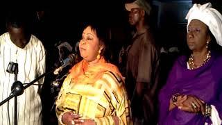 Madame Awa Diop Gabon à Pikin