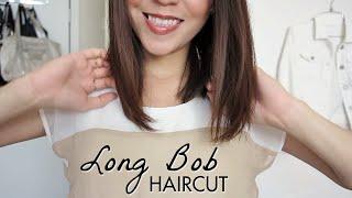 Long Bob Haircut Tutorial! How To Cut Your Own Hair | LynSire