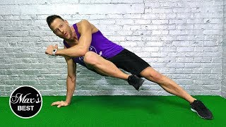 5 BEST EXERCISES TO GET RID OF LOVE HANDLES   Exercises To Burn Love Handles - LIVE!