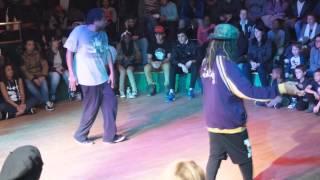 preview picture of video 'Twinkee vs Flow - 1/4 de final HipHop - Battle de Bondy 2014'