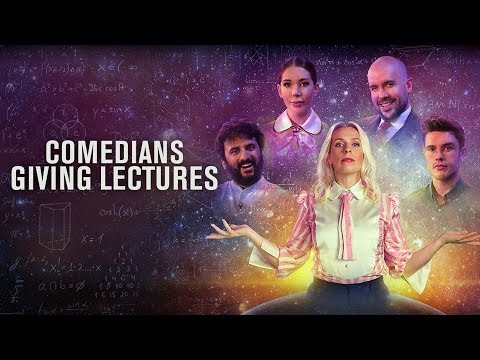 Comedian's Giving Lectures Trailer - New Original Comedy: UKTV
