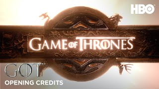 Opening Credits | Game Of Thrones | Season 8 (HBO)