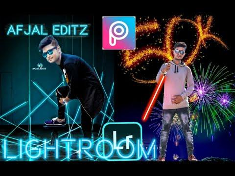 Neon Font Picsart