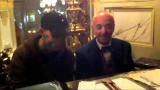 Rick Genest - Zombie Boy, Live from New York Cafe in Budapest: Rico The Piano Player