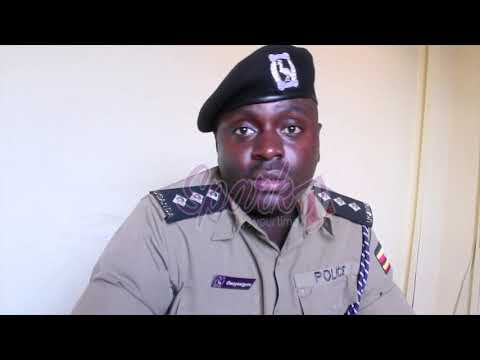 Police warn Kenzo about his peaceful demonstration