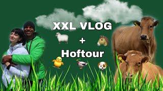 XXL VLOG 🖤 / Nasti und Kenneth kommen + HOFTOUR