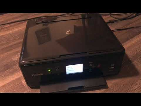 ✅  How To Use Canon Pixma TS6120 Inkjet Printer Review 🔴