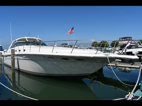 Sea Ray 500 Sundancer video