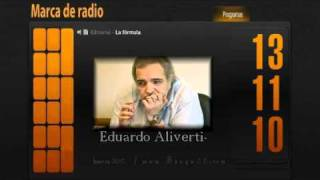 Eduardo  AlivertiEditorial La Formula 13112010Marca De Radio