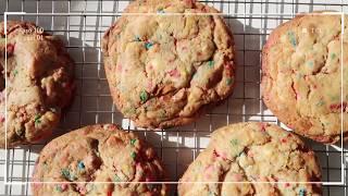 NYC BIRTHDAY CAKE COOKIES RECIPE 🍪