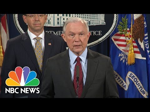 Jeff Sessions After Donald Trump Rebuke: 'I Plan To Continue' As Attorney General | NBC News