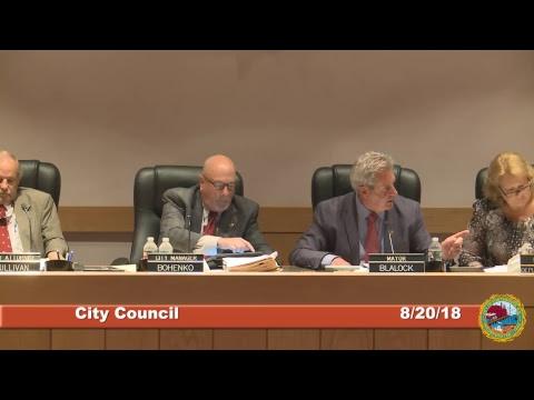 City Council 08.20.18