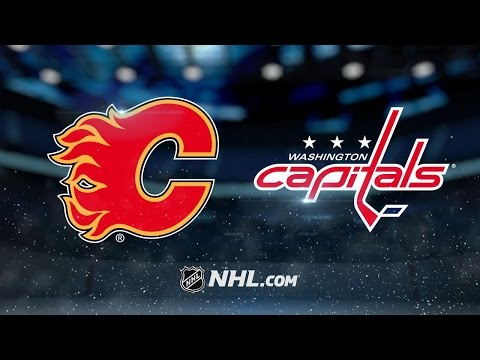 Ovechkin, Backstrom power Caps to 4-2 win vs. Flames