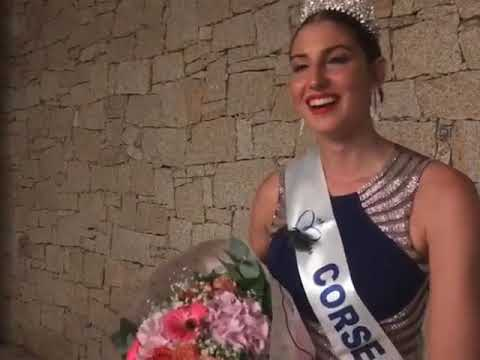 VIDEO. Alixia Cauro élue miss Corse 2019