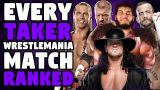 Every Undertaker WrestleMania Match Ranked From WORST To BEST