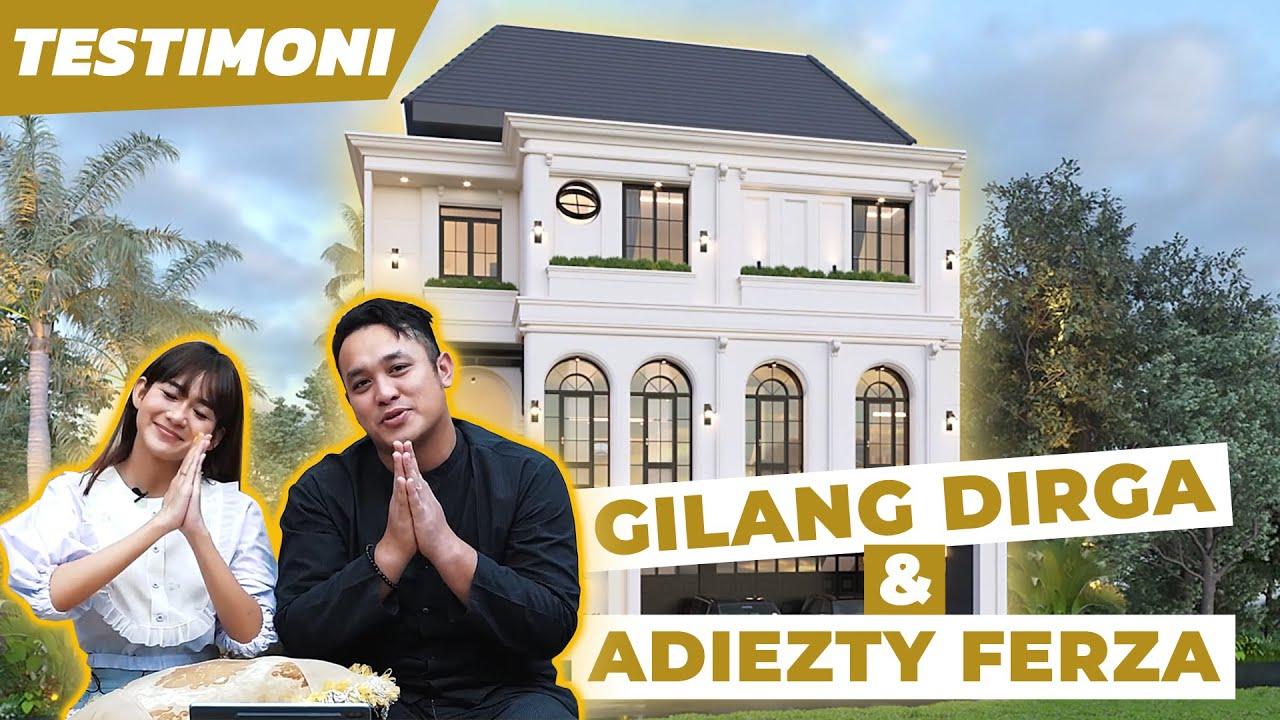 Video 3D Desain Rumah Mediteran 3 Lantai Bapak Gilang Dirga dan Ibu Adiezty Fersa di Bekasi, Jawa Barat