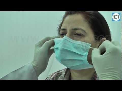 Face mask na may clay wrinkles