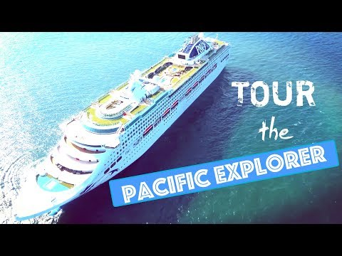 Take a tour on P&O Pacific Explorer!
