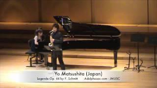 3rd JMLISC Yo Matsushita (Japan) Legende Op. 66 by F. Schmitt