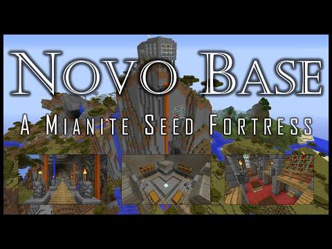Novo Base - Mianite Seed Survival Minecraft Project