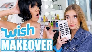 WISH HAUL MAKEOVER ft. Mia Maples