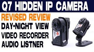 Q7 Mini Spy IP Camera -Full Setup -Revised