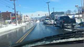 preview picture of video 'A short trip down Broadway, Newburgh, NY'