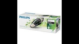 Philips ECO FC6148/01 Akkusauger (beutellos, 10,8V Li-Ionen-Akku, 9 Minuten Laufzeit)
