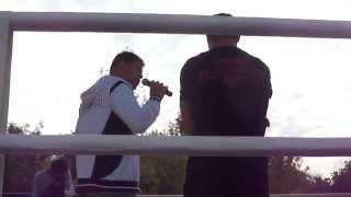 Братья Кличко, Видео с открытой тренировки Виталия Кличко перед боем с Чарром в Москве