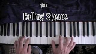 "How to Play ""Angie"" by The Rolling Stones Piano Tutorial"