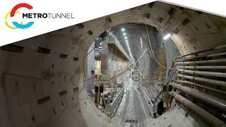 Take a ride through the Metro Tunnel
