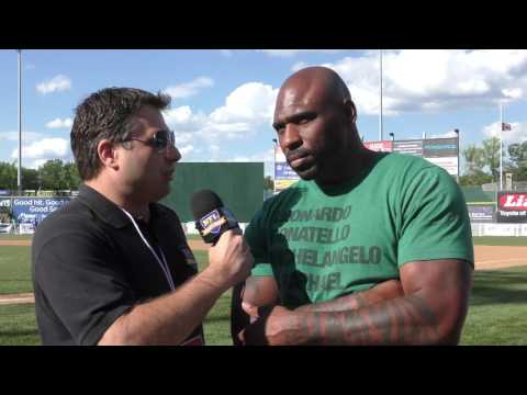 Brandon Jacobs Interview at NY Giants Landon Collins Celebrity Softball Game
