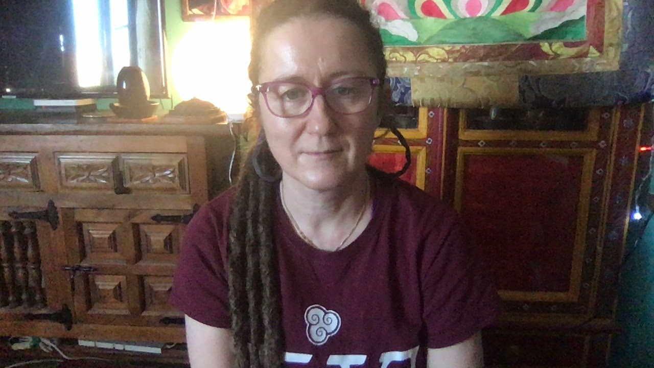 Lama Gangchen Tantric Self-Healing 2- Commentary by Lama Caroline - part 55 (EN) Mudras