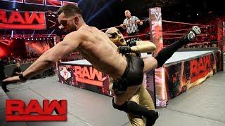 Finn Bálor vs. Goldust: Raw, Sept. 25, 2017