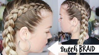 How To Dutch Braid | Braiding 101