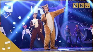 Ylvis: The Fox Performing What Does The Fox Say   Children In Need - Bbc