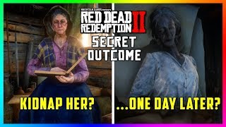 What Happens If You Kidnap The Old Lady At Watson's Cabin In Red Dead Redemption 2? (SECRET OUTCOME)