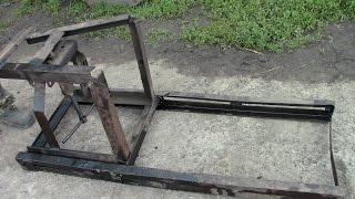 Пристосування для розборки (розкатки) тракторів