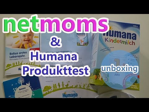 NetMoms Community & Humana Kindermilch Produkttest / Unboxing
