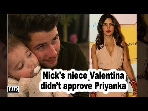 Nick's niece Valentina didn't approve Priyanka in Jonas Family (видео)
